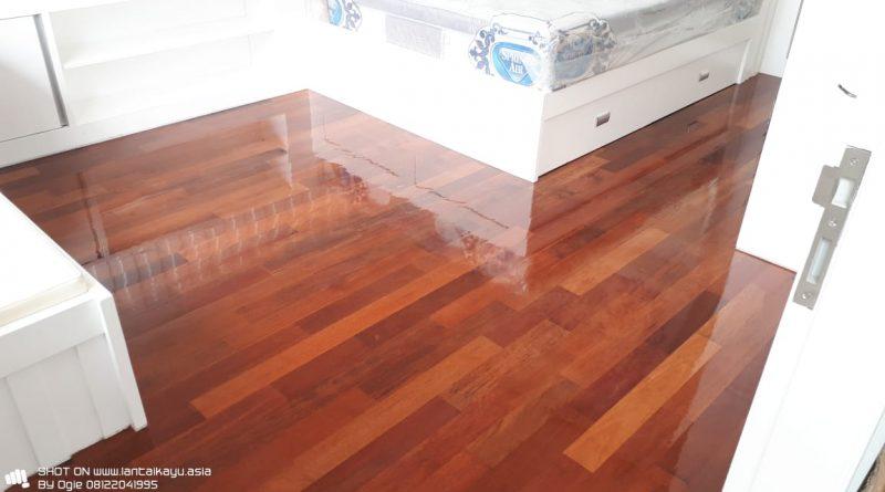 Pemasangan parquet lantai kayu Merbau Rawamangun jakarta Timur