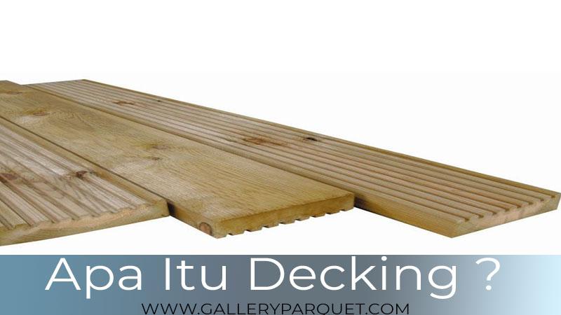 apa itu lantai kayu outdoor?