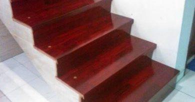 papan tangga kayu merbau 2