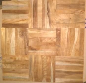 lantai kayu mozaik jati
