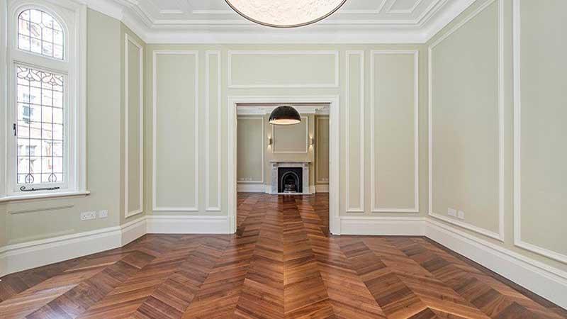 wujudkan konsep hunian modern menggunakan lantai kayu