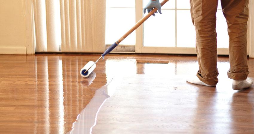 coating ulang lantai kayu