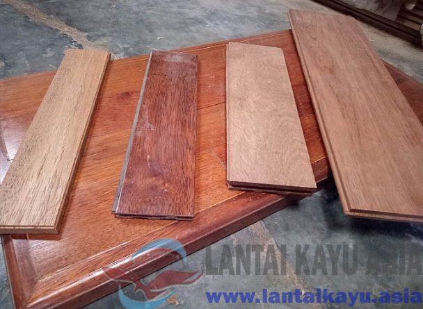 harga jual lantai kayu parket solid Mojokerto