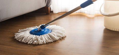 tips membersihkan lantai kayu
