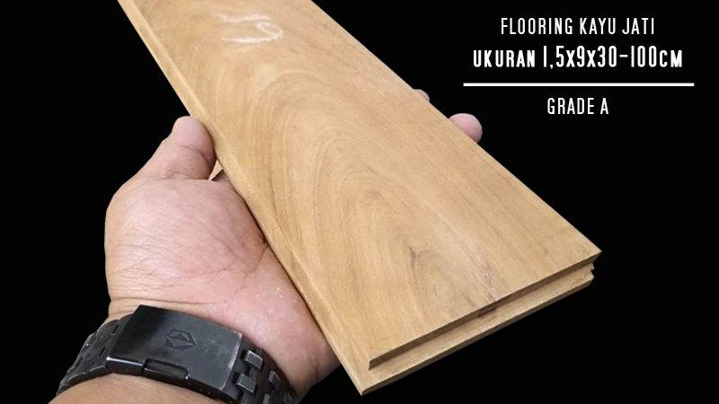 lantai kayu flooring jati