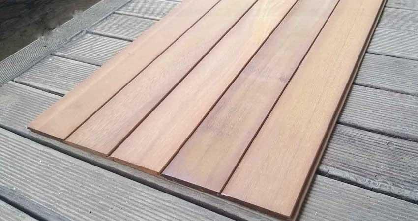 lambersering kayu ulin