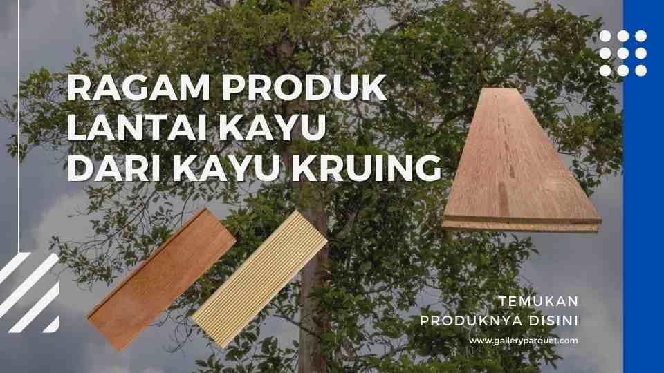 lantai kayu kruing