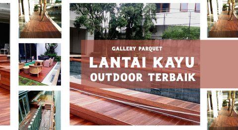 lantai kayu outdoor decking halaman