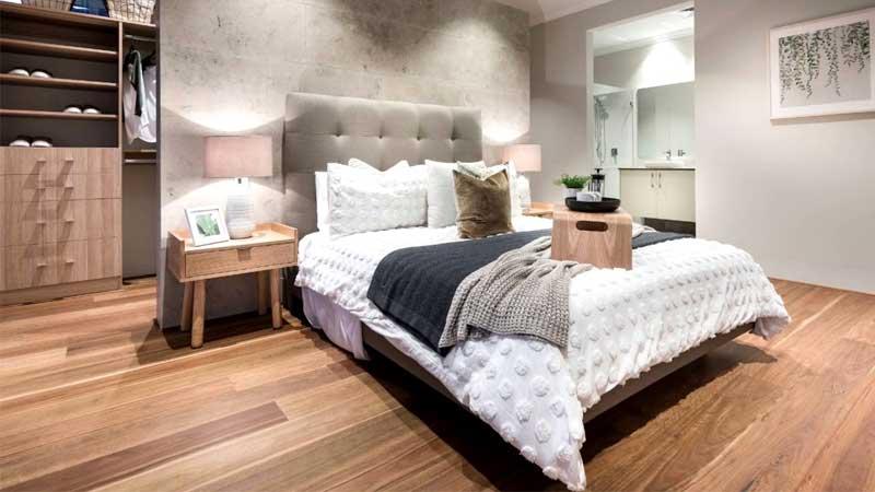 kelebihan memakai lantai kayu laminate untuk kamar tidur