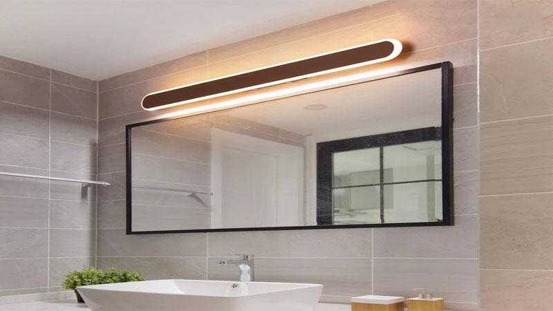 Terapkan lampu LED atau lampu tersembunyi