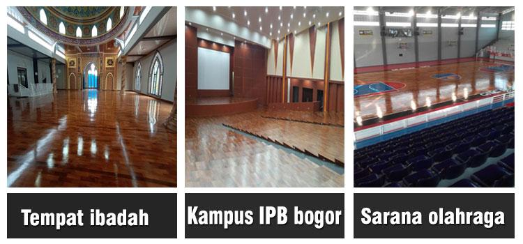 Proyek lantai kayu