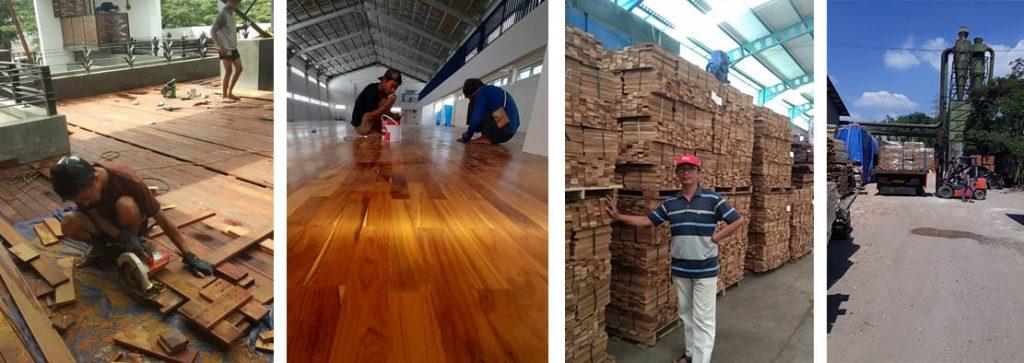 gallery lantai kayu