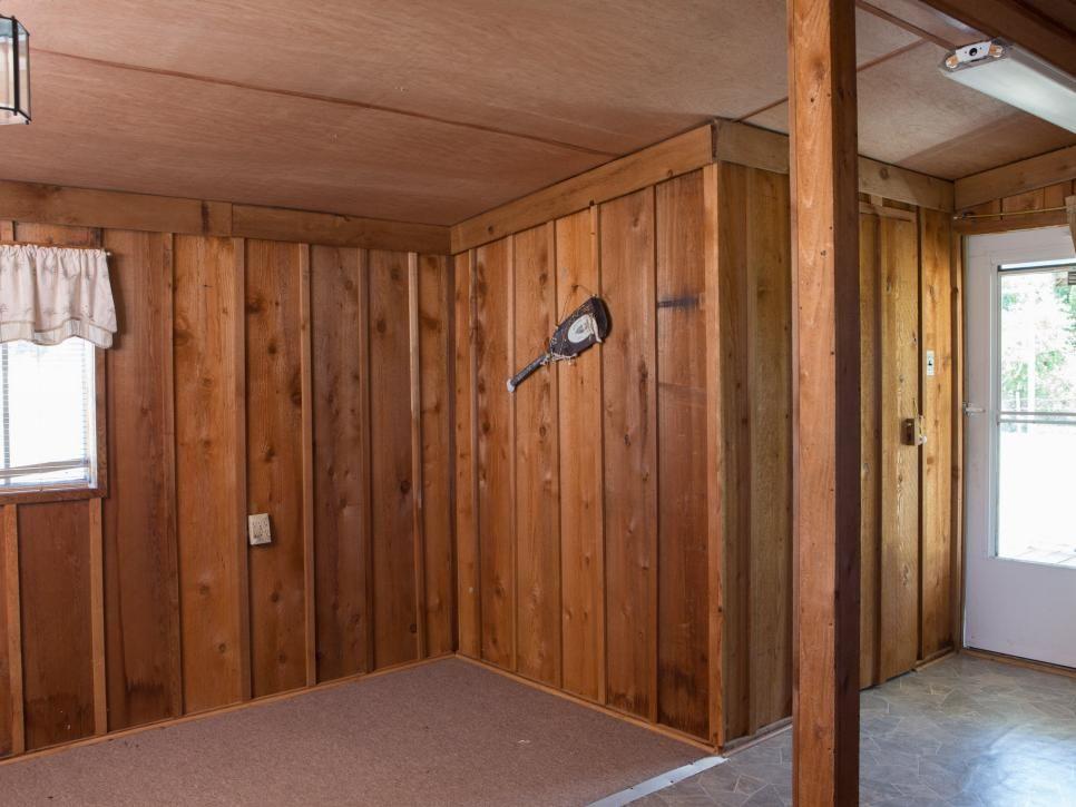 dinding kayu parket