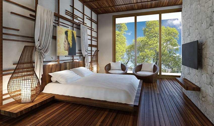 Desain kamar villa