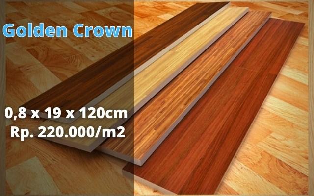 Flooring laminate golden crown