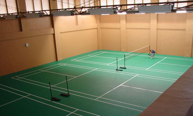 lapangan badminton indoor
