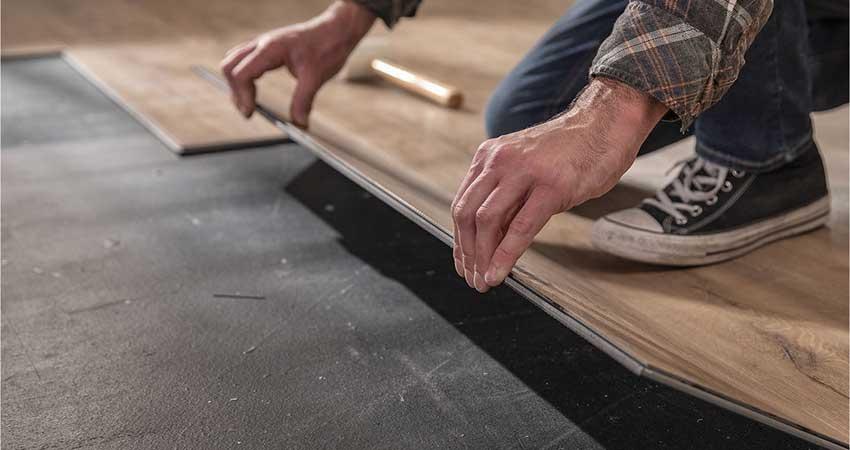 cara aplikasikan lantai vinyl
