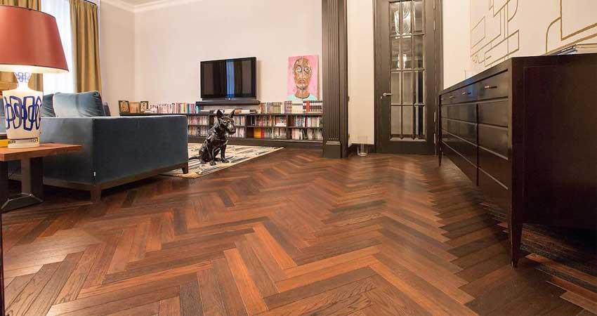 desain rumah minimalis lantai kayu