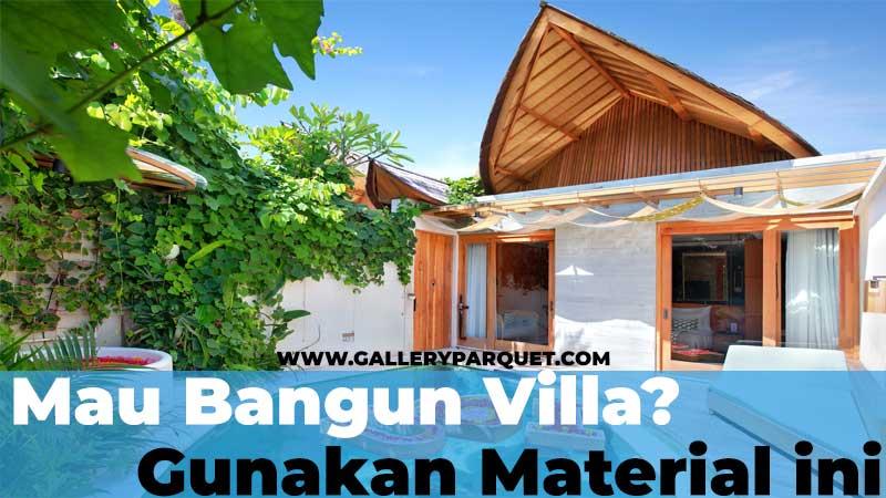 tips menciptakan sebuah villa dengan konsep alami