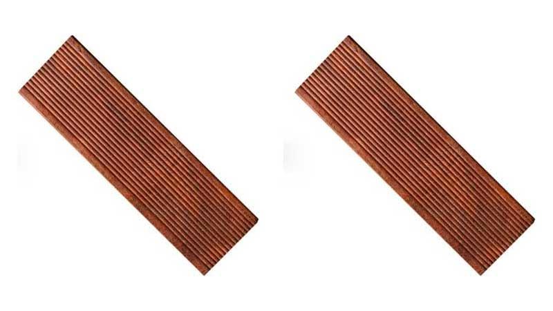 decking merbau untuk taman minimalis