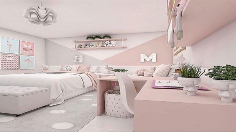 desain kamar tidur cewek