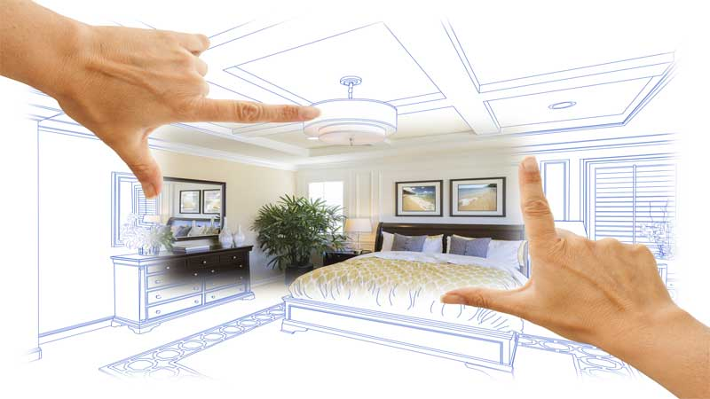 memilih dekorasi kamar tidur minimalis 3x4