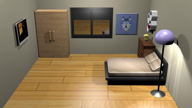 pilih desain kamar tidur yang pas