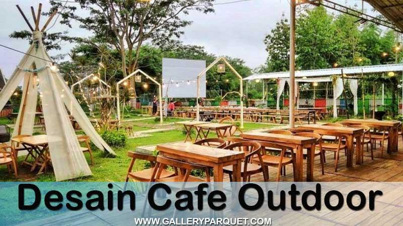 desain cafe outdoor minimalis