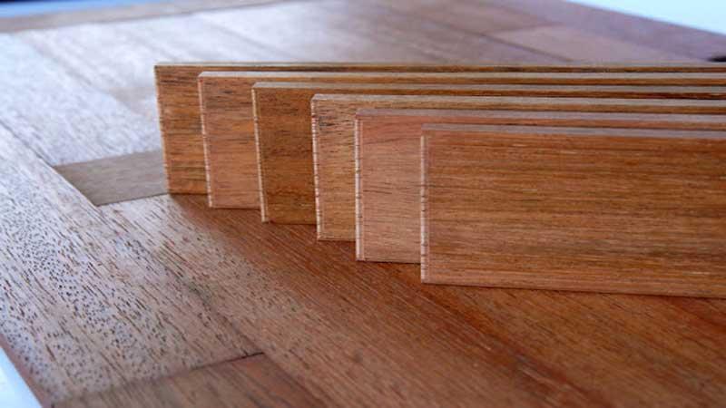 karakteristik lantai kayu solid & laminate