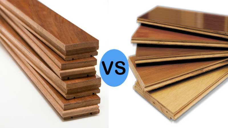 perbandingan lantai kayu solid & laminate