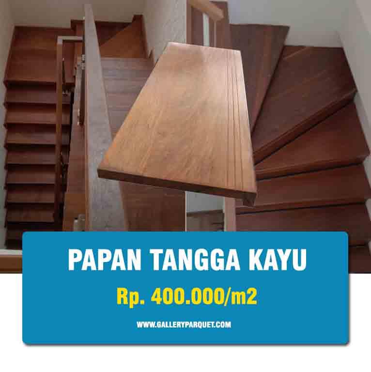 harga tangga kayu rumah