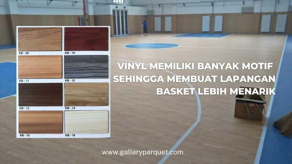 vinyl lapangan basket